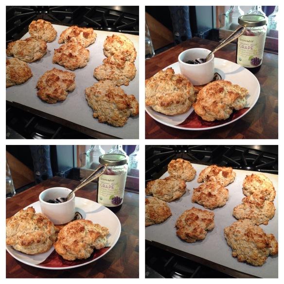 banana walnut scones | EAT ME